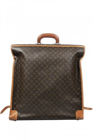 Louis Vuitton Suit Bag cognac-coloured