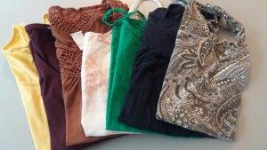 Kleiderset 7 Shirts Größe 36/38