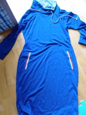 Robe pull bleu fluo