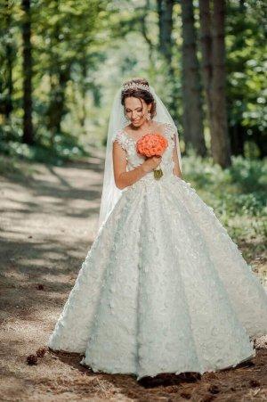 1--01 Babaton Vestido de novia blanco puro