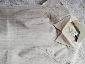 100% Fashion Robe à manches courtes blanc