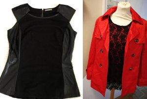 Orsay Twin Set negro-rojo