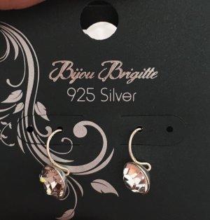 Kleine 925 Sterling Silber Ohrringe Neu