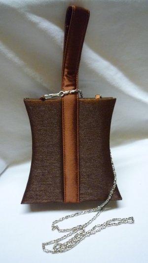 Borsetta mini bronzo Fibra tessile