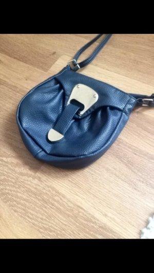 Kleine blaue Tasche von Deichmann