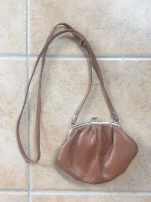 Mini Bag brown imitation leather
