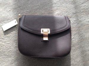 Kleine braune Handtasche von Pieces, neu mit Etikett