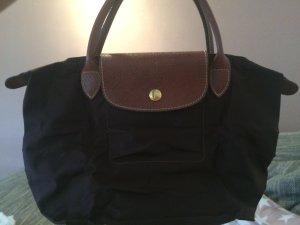 Kleine braune Longchamps Tasche