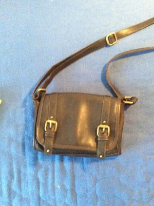 Bijou Brigitte Crossbody bag dark brown-black brown imitation leather