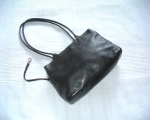 Bree Carry Bag black leather