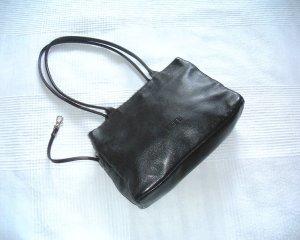 Bree Sac Baril noir cuir