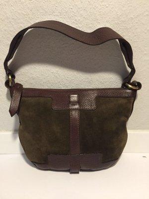 Burberry Handbag dark brown-green grey