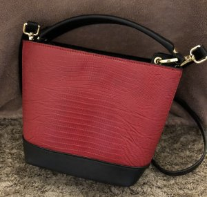 Zara Carry Bag black-dark red