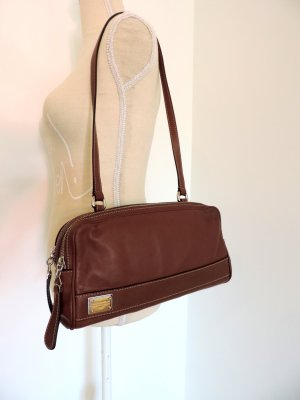 Dolce & Gabbana Crossbody bag cognac-coloured leather
