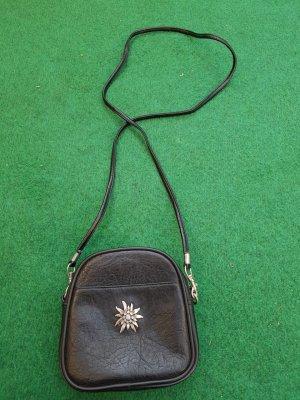 Kleine dunkelblau  Leder Tasche
