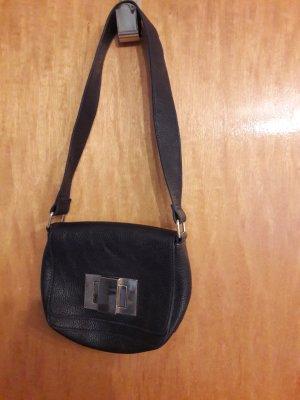 Kleine dunkelblaue Handtasche von H&M