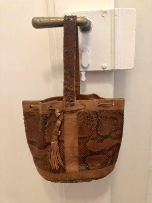 Kleine Echtlederhandtasche