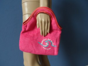 Esprit Pouch Bag pink polyester