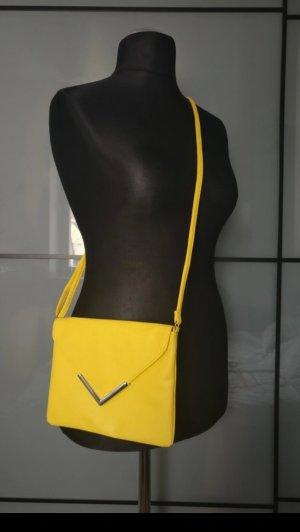 H&M Borsa a spalla argento-giallo