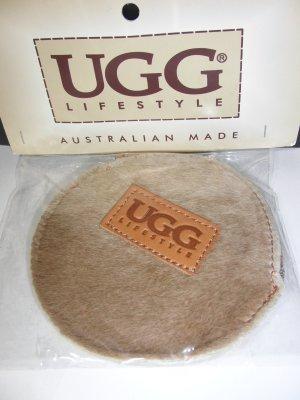 UGG Portefeuille marron clair tissu mixte