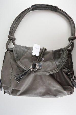 Kleine graue Handtasche von Esprit aus Kunstleder