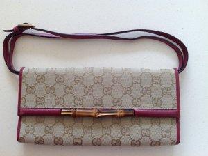 Gucci Borsa clutch viola-beige