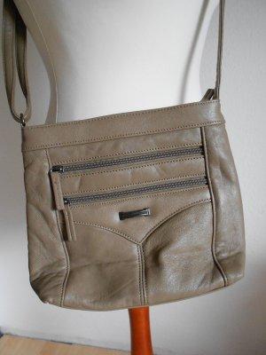 Kleine Handtasche beige bräunlich