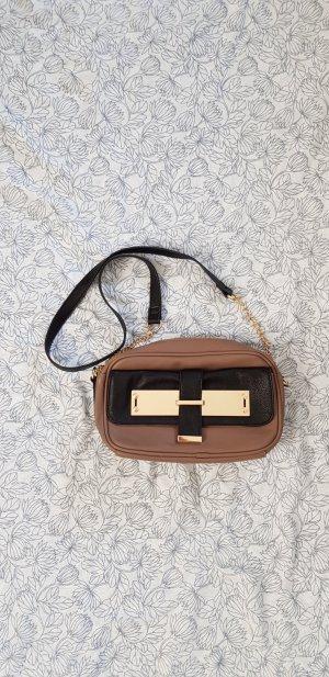 kleine Handtasche braun