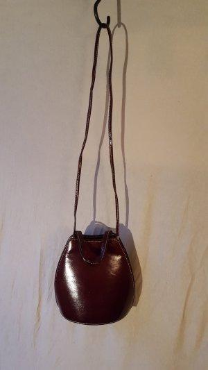 Clutch multicolored imitation leather
