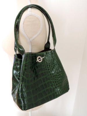 Turn Bag dark brown-dark green