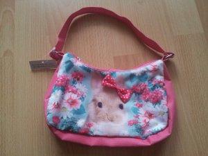 kleine Handtasche Hase mit Schleife rosa NEU mit Etikett