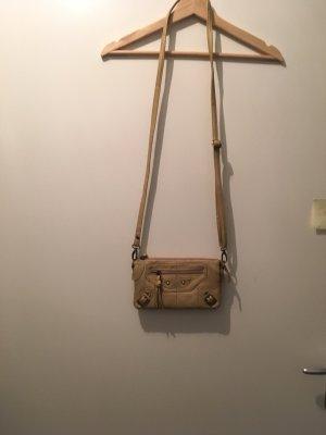 Kleine Handtasche in Cremé