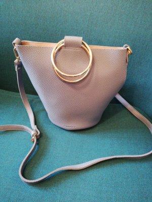 Kleine Handtasche in Hellblau