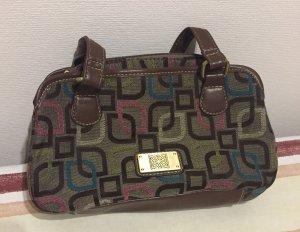 Kleine Handtasche . Mit kleinem Innenfach .