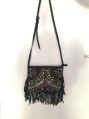 Kleine Handtasche mit langem Gurt