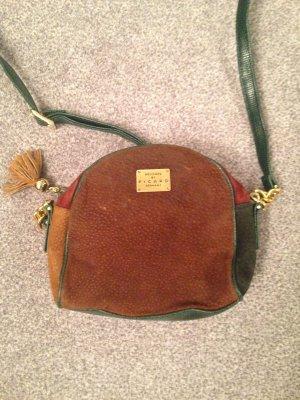 Kleine Handtasche/Umhängetasche Wildleder bunt von Picard