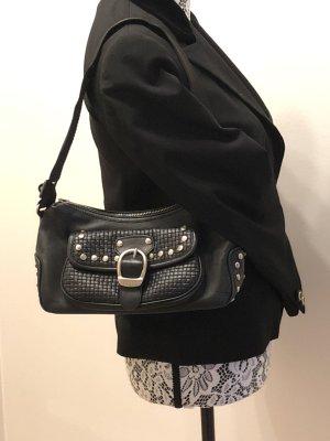 Kleine Handtasche von Escada Sport mit Nieten in schwarz // auch in dunkelbraun verfügbar!