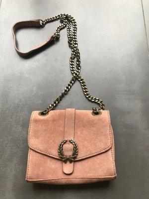 Zara Woman Mini Bag nude leather