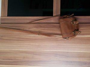 kleine Kunstledertasche