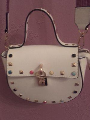 Kleine Leder Handtasche aus Italien