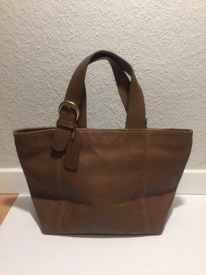 Kleine Leder-Handtasche von Coach