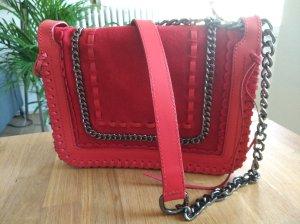Zara Bolso rojo-rojo ladrillo