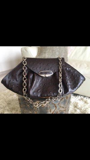 Kleine Lederhandtasche mit Kettchen von Furla