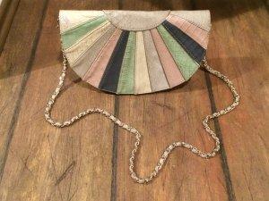 Kleine Mango Tasche Kunstleder, Pastell