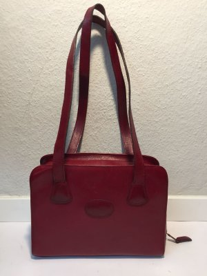 Mulberry Shoulder Bag bordeaux leather