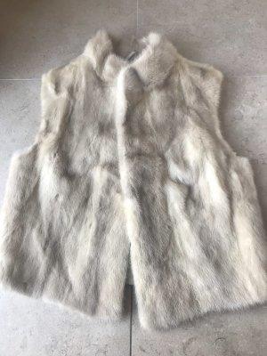 Kleine Nerz Weste Mink Real Fur Echt Pelz