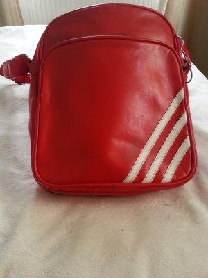 Kleine rote adidas originals retro Tasche