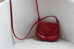 kleine rote Handtasche