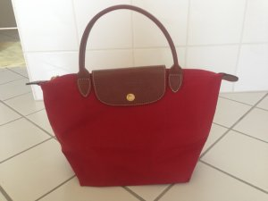 Longchamp Carry Bag brick red