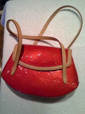 Louis Vuitton Crossbody bag red synthetic material